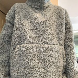 🖤 quarter zip oversized sweater (2 for $40)